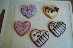 Piano cookies by cookiepianos