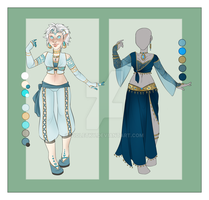 :: FEB Commission 01: Outfit Wardrobe :: by VioletKy