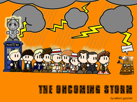 Doctor Who -The Oncoming Storm by willmeister42