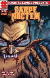 Carpe Noctem #1 - cover by MartinDunn