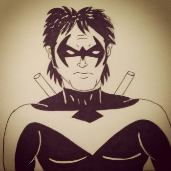 Nightwing by wbeyer