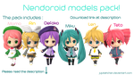 MMD - Nendoroids + download! by JujubahChan