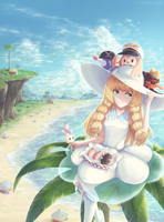 Picnic in Alola by shuryukan