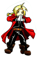 +FMA+ Ed the Chibi Alchemist by Brionna
