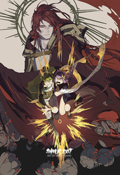 Carciphona Book 6 Cover Rough by shilin