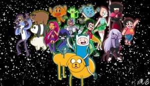 My Favorite Cartoon Network Characters by MirandaB01