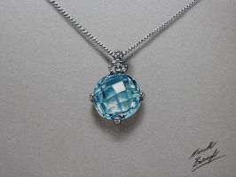 Necklace DRAWING by Marcello Barenghi by marcellobarenghi