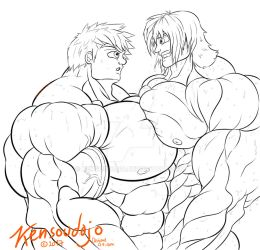 Pec compare - to big for gym by Kensoudojo