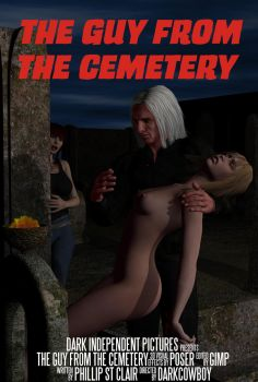 The Guy From The Cemetery - Poster 2 by TheDarkCowBoy
