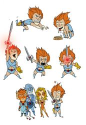 'Little' Lion-O by darrenrawlings