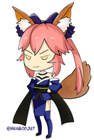 Tamamo no Mae request by HaxGodJet