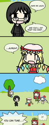 Flandre can tune a piano but she can't tuna fish by Tsukune429