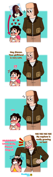 SU: Andy the Embarrased Uncle by RoseMary1315