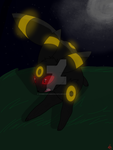 Umbreon (old by SombrasSombrero2013