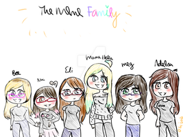 Meme Family ~ Gift by OliviaCxt