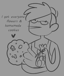 Happy V-day fellow pringles by TropicaIDeer