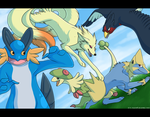 Teamwork by Zilla-Hearted
