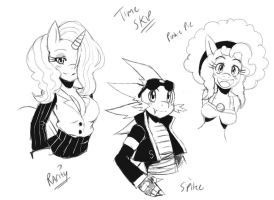 Time Skip MLP Sketches by ss2sonic