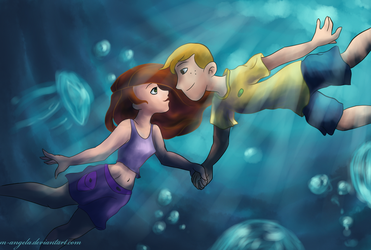 Under The Sea by m-angela