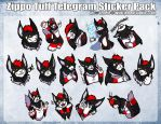 [C] - Zippo Tuff Telegram Sticker Pack 2 by Temrin