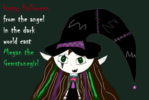 Happy Halloween From Angel In The Dark world by MC-Gemstone