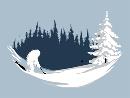 Abominable Golf by mollygrue