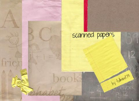 Textures 31: papers by fullmind79