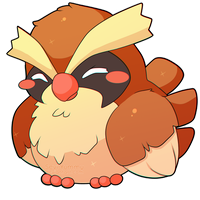 ChibiDex: #016 Pidgey by SeviYummy