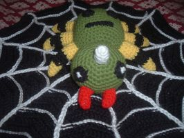 Spinarak Pokemon crochet amigurumi