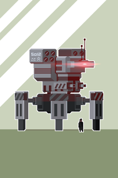 Mech Small by inkfood