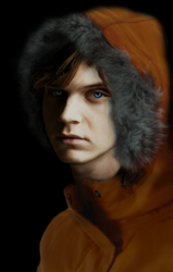 Evan Peters as Kenny by Nachtglanz20