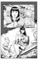 2000 AD Page 1 pencils by BESTrrr