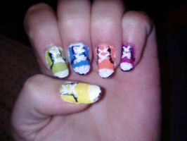Converse nails by Lovelyme303