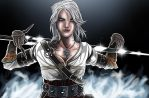 Ciri The Witcher 3 by JonathanPiccini-JP