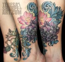 luckenbooth tattoo by Phedre1985