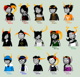 Session 1 Team DANCESTOR TALKSPRITES by SavannaEGoth