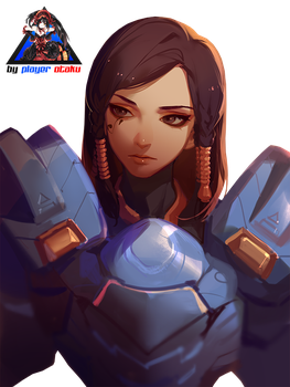 Overwatch Pharah Render HD by PlayerOtaku