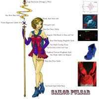 Sailor Pulsar [Reference] by GabiStar