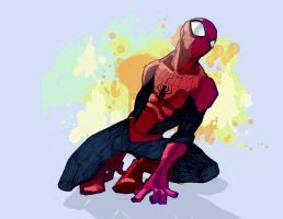 Your friendly neighborhood Spidey by bernce