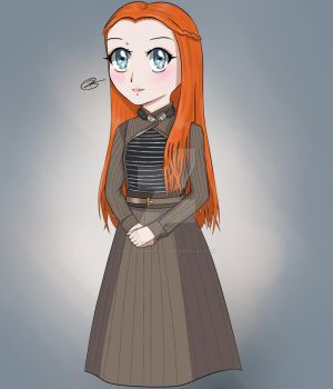 GOT - Sansa Stark by Bec-Productionz