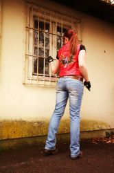 Claire Redfield Cosplay - Rockfort Prison by ChaoticClaire