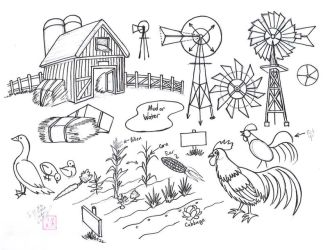 Draw Farm Stuff by Diana-Huang