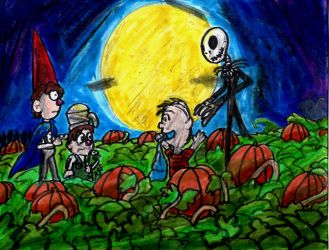 Spooky Surprise Halloween by SonicClone