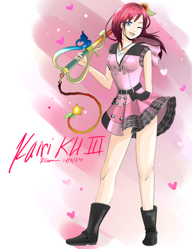 Kingdom Hearts III- Kairi [Outfit Reveal] by xXKurisshiXx