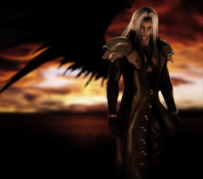 Magnificent ... Sephiroth by Ascleme