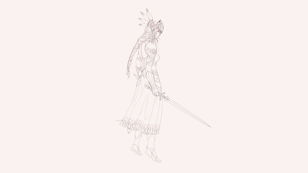 Lenneth Valkyrie by Cursors