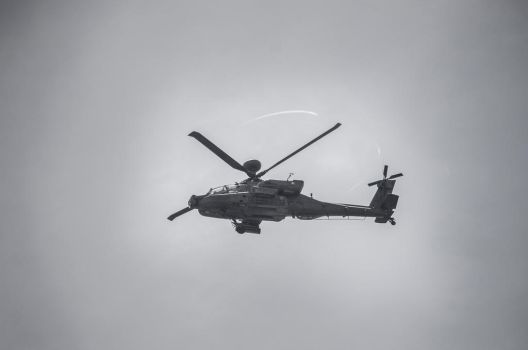 Apache helicopter by PearsPhotography