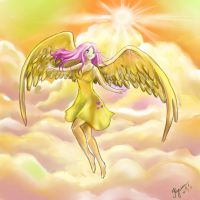 NOw I can Fly height by UnnameLuna