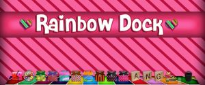 Rainbow Dock by princessang2644