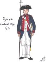 Major of the Continental Army by CdreJohnPaulJones